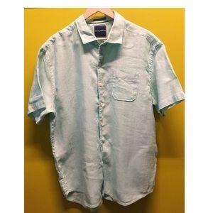 Tommy Bahama 100% silk short sleeve shirt Size XL